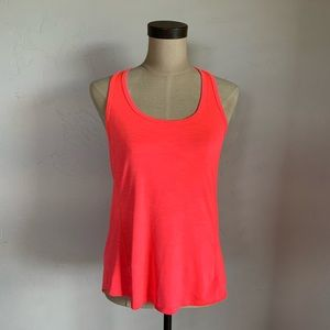 Betsey Johnson neon pink workout tank